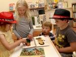 Dětský koutek knihovny nezůstal bez zájmu