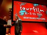 Bertrand Piccard - přebírá cenu