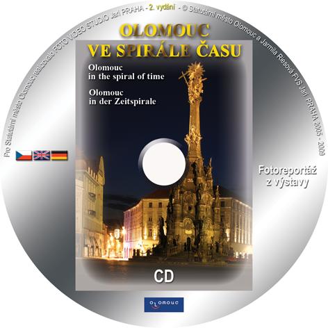 Ukázka potisku CD